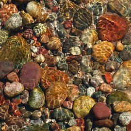 David T Wilkinson - Colored Rocks Under Water