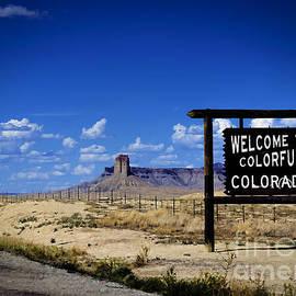 Janice Rae Pariza - Colorful Colorado Ute Welcome