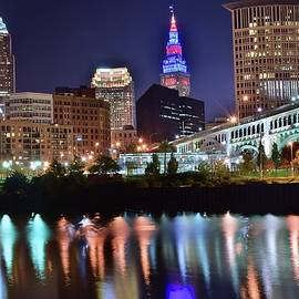 Frozen in Time Fine Art Photography - Colorful Cuyahoga Reflection
