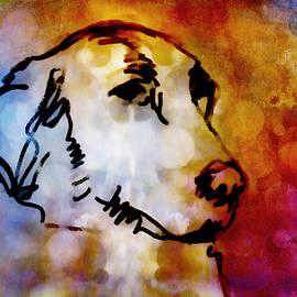 Ann Powell - Colorful Dog Art
