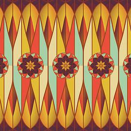 Gaspar Avila - Colorful ethnic pattern