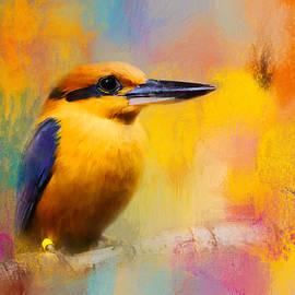 Jai Johnson - Colorful Expressions Kingfisher