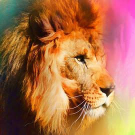 Jai Johnson - Colorful Expressions Lion