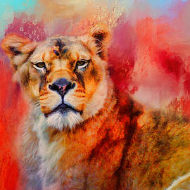 Jai Johnson - Colorful Expressions Lioness