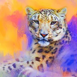 Jai Johnson - Colorful Expressions Snow Leopard