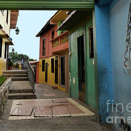 Catherine Sherman - Colorful Guayaquil Alley
