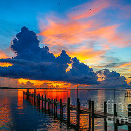 Tom Claud - Colorful Indian River Sunrise