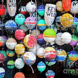 John Stephens - Colorful Key West Lobster Floats