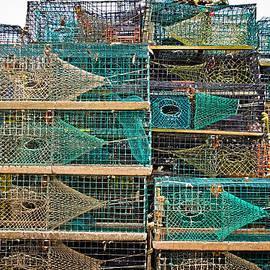 Colleen Kammerer - Colorful Lobster Traps