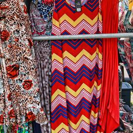 Allen Beatty - Colorful Print Dresses