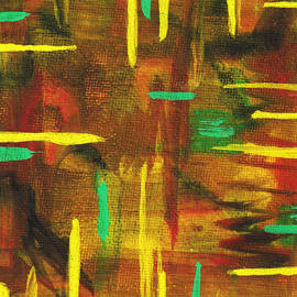 Sir Josef - Social Critic - Colorful Promises - Original Water Color - 2014