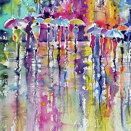 Colorful rain - Kovacs Anna Brigitta