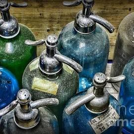 Paul Ward - Colorful Seltzer Bottles