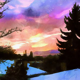 Anthony Caruso - Colorful Sunset