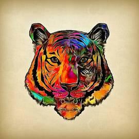 Lilia D - Colorful tiger