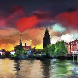 Colorful Town - Melanie D