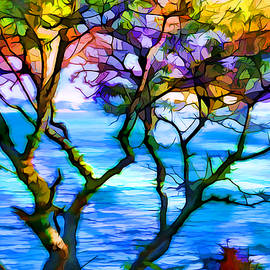 Lilia D - Colorful tree abstraction