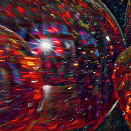 Stuart Litoff - Colorful Vases Abstract