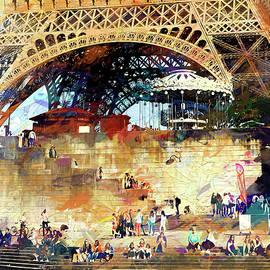 John Rivera - Colors of Paris in the Summer