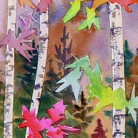 Mohamed Hirji - Colourful Birches 1