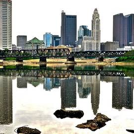 Frozen in Time Fine Art Photography - Columbus Daylight Reflection