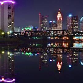 Frozen in Time Fine Art Photography - Columbus Ohio Reflecting Nicely