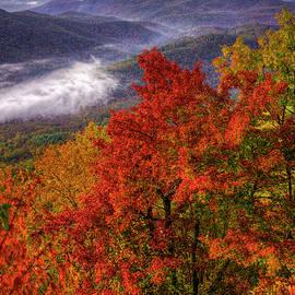 Reid Callaway - Come With Me Looking Glass Rock Blue Ridge Mountain Parkway Art