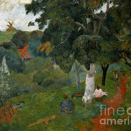 Coming and Going, Martinique, 1887 - Paul Gauguin
