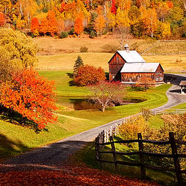 Jeff Folger - Coming home in a Vermont autumn