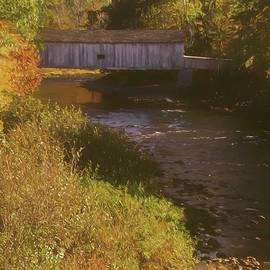 Rusty Smith - Comstock covered bridge