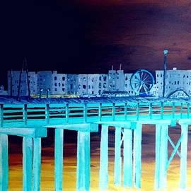 Coney Island By Moonlight