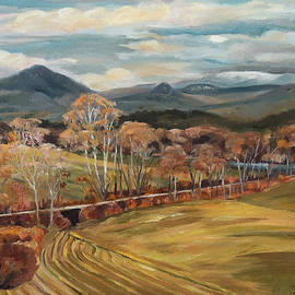 Nancy Griswold - Connecticut River Valley View from Newbury Vermont