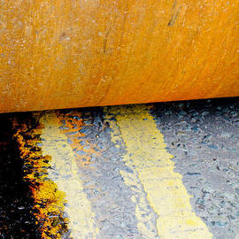 Pete Edmunds - Construction 03 - HAMM Roller on Double Yellow Lines