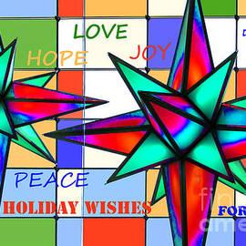 Regina Geoghan - Contemporary Holiday Card