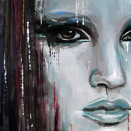 Contemporary Portrait Painting 179 III - Mawra Tahreem
