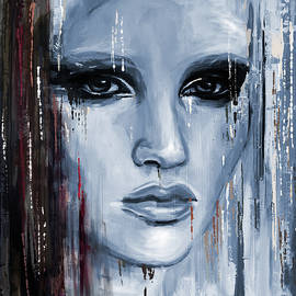Contemporary Portrait Painting 179 IV - Mawra Tahreem