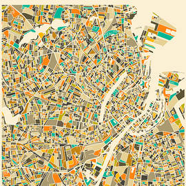 COPENHAGEN MAP 2 - Jazzberry Blue
