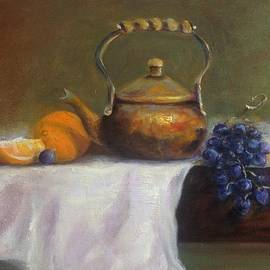 Anne Barberi - Copper Pot w/Fruit