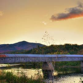 Joann Vitali - Cornish Windsor Covered Bridge in Autumn