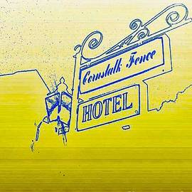 Paula   Baker - Cornstalk Fence Hotel in Blue