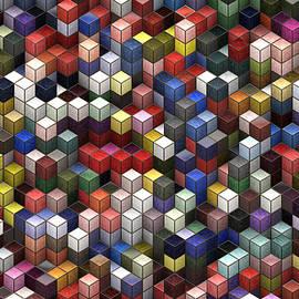 Jack Zulli - Cororful Cubes 2