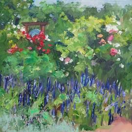 Carol Hopper - Corrales Winery Monet