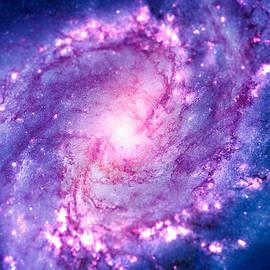 Philipp Rietz - Cosmic vacuum cleaner Spiral Galaxy M83