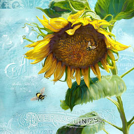 Cottage Garden Sunflower - Everlastings Seeds n Flowers - Audrey Jeanne Roberts