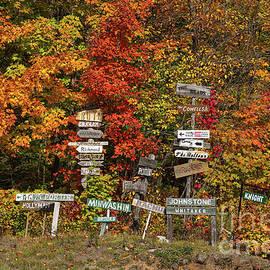 Les Palenik - Cottage name signs