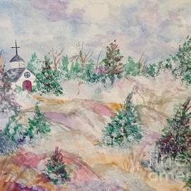Ellen Levinson - Country Church Winter