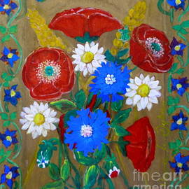 Anna Folkartanna Maciejewska-Dyba  - Country Flowers