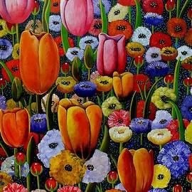 Sandra Sengstock-Miller - Country Garden