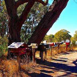 Ronald Rockman - Country Road Mail Boxes