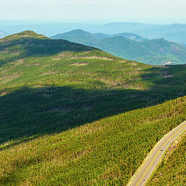 Paul Ge - Country road to my home whiteface mountain New York